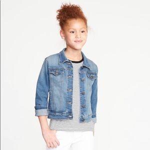 Medium Indigo Jean Jacket for Girls